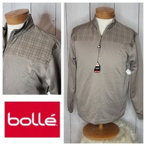 Bolle Golf performance 1/4 zip pullover NWT